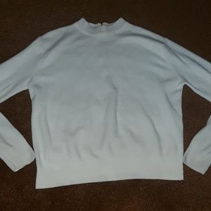VINTAGE Cream Sweater - Size Small
